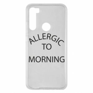 Etui na Xiaomi Redmi Note 8 Allergic to morning