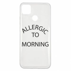 Etui na Xiaomi Redmi 9c Allergic to morning