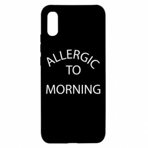 Etui na Xiaomi Redmi 9a Allergic to morning