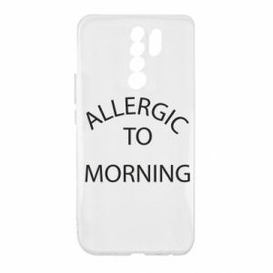 Etui na Xiaomi Redmi 9 Allergic to morning