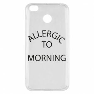 Etui na Xiaomi Redmi 4X Allergic to morning