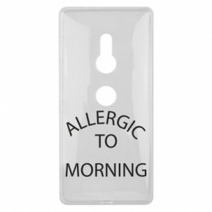 Etui na Sony Xperia XZ2 Allergic to morning