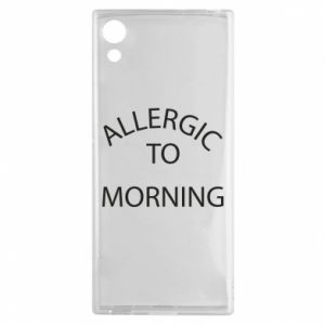 Etui na Sony Xperia XA1 Allergic to morning