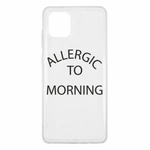 Etui na Samsung Note 10 Lite Allergic to morning