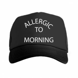 Czapka trucker Allergic to morning