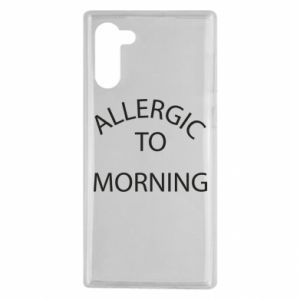 Etui na Samsung Note 10 Allergic to morning