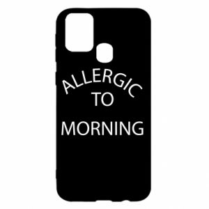 Etui na Samsung M31 Allergic to morning