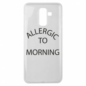 Etui na Samsung J8 2018 Allergic to morning