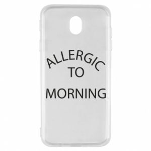 Etui na Samsung J7 2017 Allergic to morning