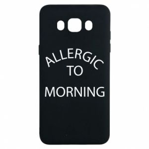 Etui na Samsung J7 2016 Allergic to morning