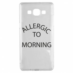 Etui na Samsung A5 2015 Allergic to morning