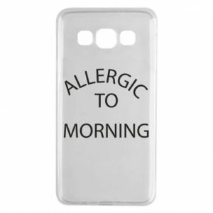 Etui na Samsung A3 2015 Allergic to morning