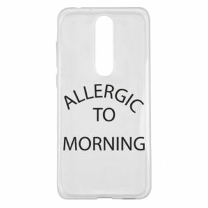 Etui na Nokia 5.1 Plus Allergic to morning
