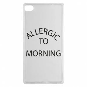 Etui na Huawei P8 Allergic to morning