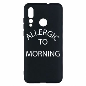 Etui na Huawei Nova 4 Allergic to morning