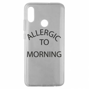 Etui na Huawei Honor 10 Lite Allergic to morning