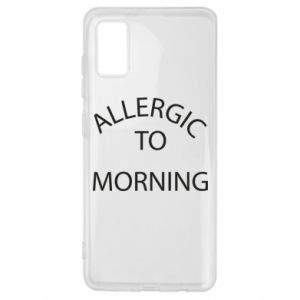 Etui na Samsung A41 Allergic to morning