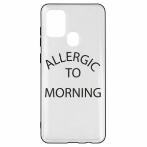 Etui na Samsung A21s Allergic to morning