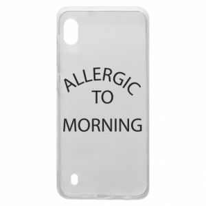 Etui na Samsung A10 Allergic to morning