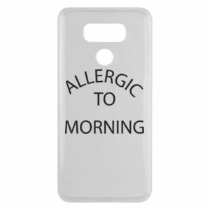 Etui na LG G6 Allergic to morning