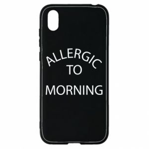 Etui na Huawei Y5 2019 Allergic to morning
