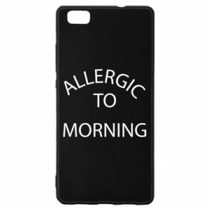 Etui na Huawei P 8 Lite Allergic to morning