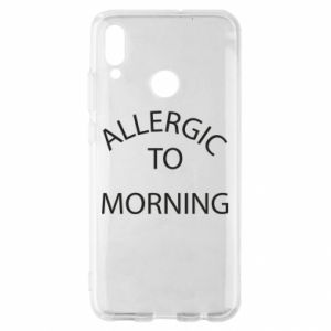 Etui na Huawei P Smart 2019 Allergic to morning