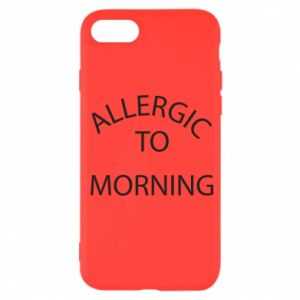 Etui na iPhone SE 2020 Allergic to morning
