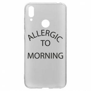 Huawei Y7 2019 Case Allergic to morning
