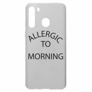 Etui na Samsung A21 Allergic to morning