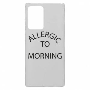 Samsung Note 20 Ultra Case Allergic to morning