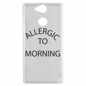 Sony Xperia XA2 Case Allergic to morning