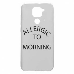 Xiaomi Redmi Note 9 / Redmi 10X case % print% Allergic to morning