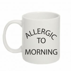 Kubek 330ml Allergic to morning