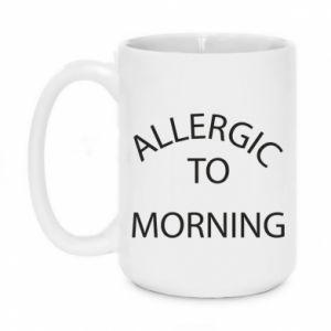 Kubek 450ml Allergic to morning