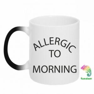 Kubek-kameleon Allergic to morning