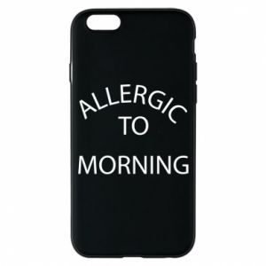 Etui na iPhone 6/6S Allergic to morning