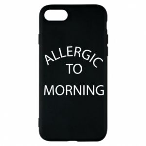 Etui na iPhone 7 Allergic to morning