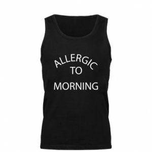 Męska koszulka Allergic to morning