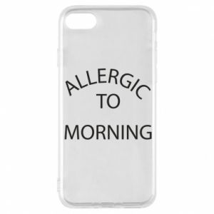Etui na iPhone 8 Allergic to morning
