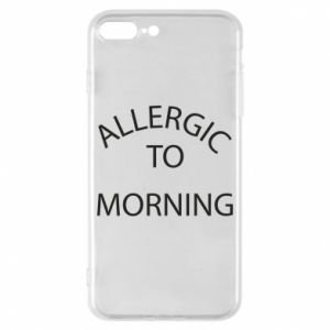 Etui na iPhone 8 Plus Allergic to morning