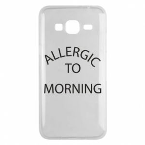 Etui na Samsung J3 2016 Allergic to morning