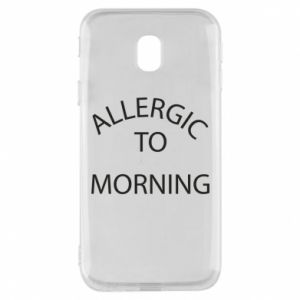 Etui na Samsung J3 2017 Allergic to morning