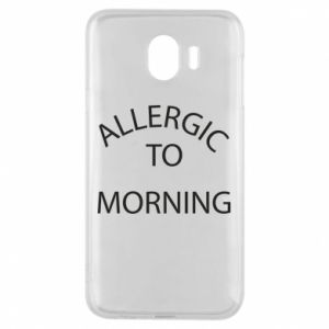 Etui na Samsung J4 Allergic to morning
