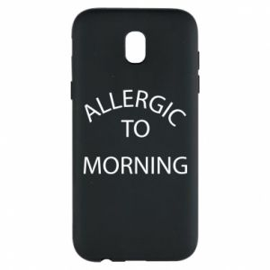 Etui na Samsung J5 2017 Allergic to morning