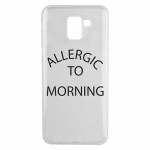 Etui na Samsung J6 Allergic to morning