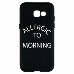 Etui na Samsung A5 2017 Allergic to morning