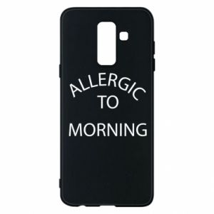 Etui na Samsung A6+ 2018 Allergic to morning