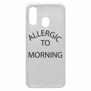 Etui na Samsung A40 Allergic to morning
