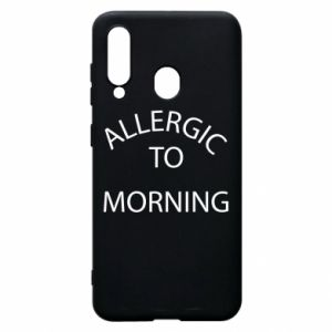 Etui na Samsung A60 Allergic to morning